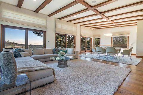 Living room, Room, Property, Ceiling, Interior design, Furniture, Building, Home, House, Real estate,