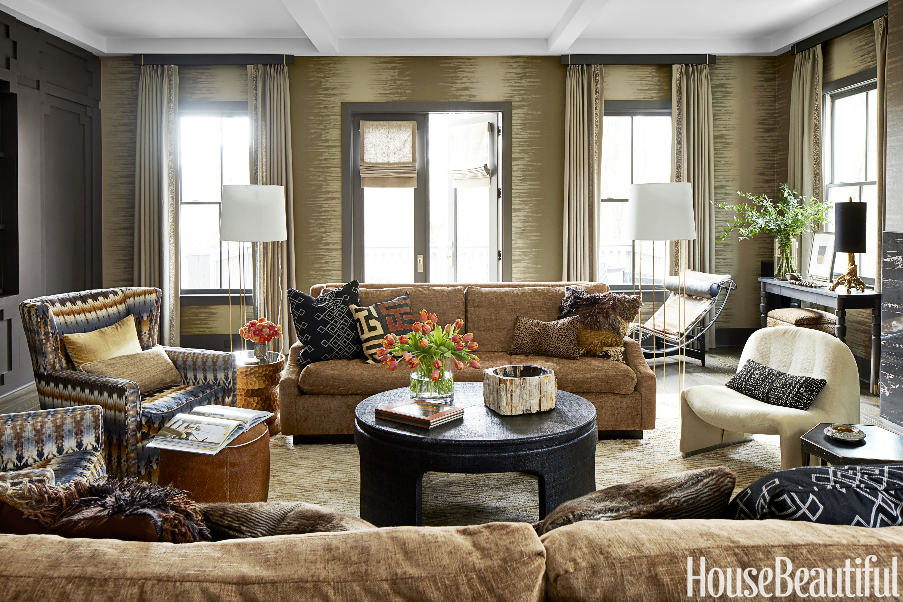 A groovy and tribal vibe cast a domino effect on this southern home kristin kong interview