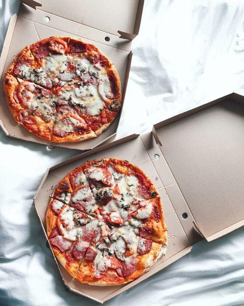 Dish, Pizza, Food, Cuisine, Pizza cheese, Ingredient, Sicilian pizza, Flatbread, Tarte flambée, Italian food,