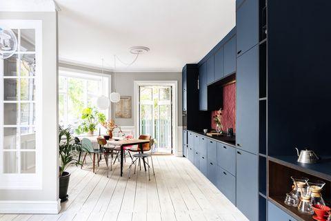 copenhagen home bright kitchen