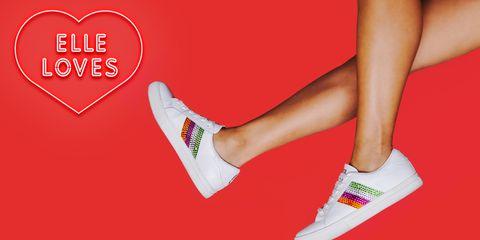 e4cf2d96de551d Marc Jacobs Rainbow Rhinestone Empire Sneakers