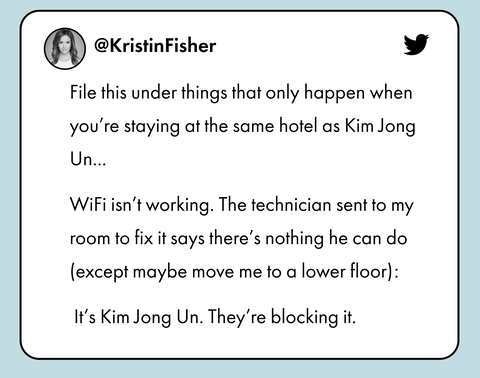 kristin fisher tweet