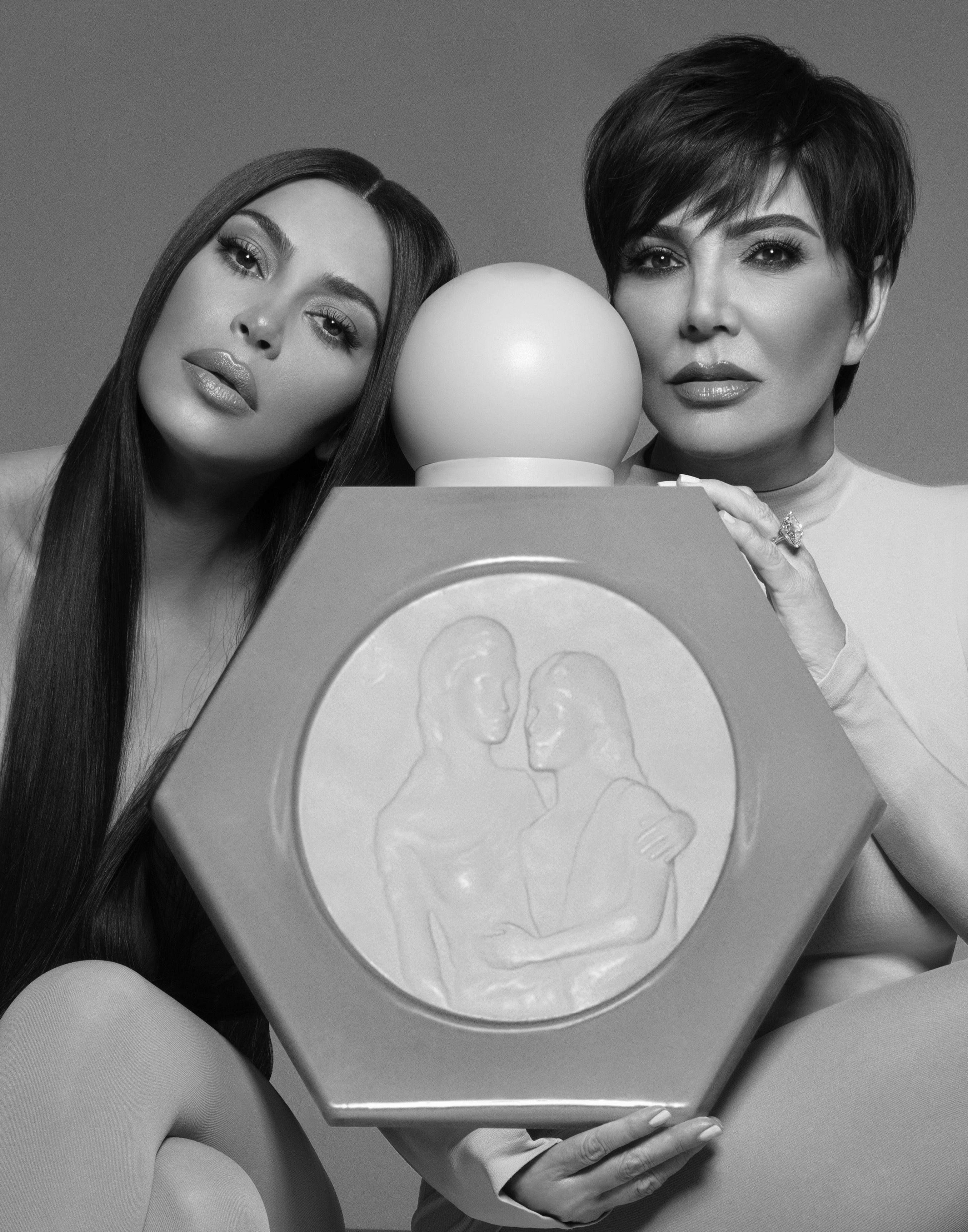 Kim Kardashian West & Kris Jenner Celebrate Mother's Day With A New KKW Fragrance