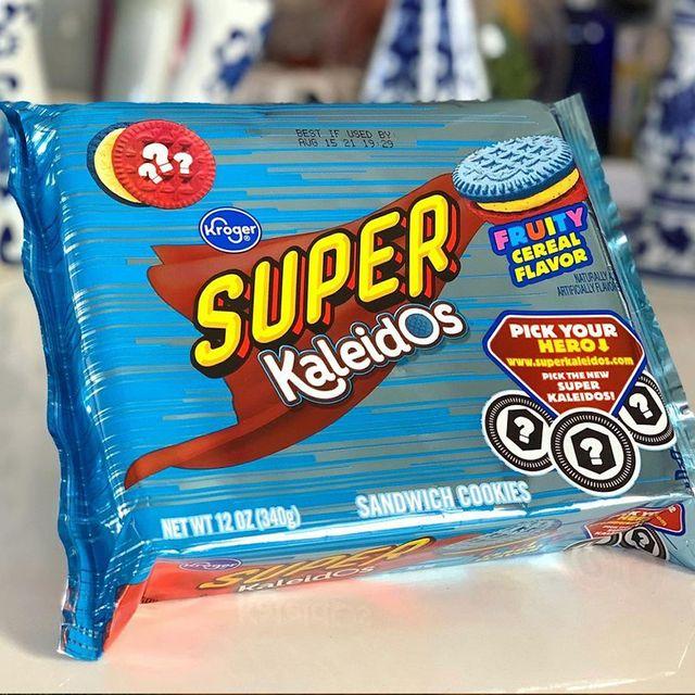 kroger super kaleidos fruity cereal flavored cookies