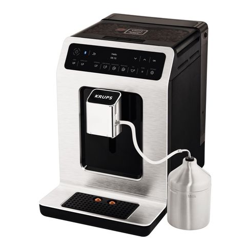 Small appliance, Home appliance, Espresso machine, Drip coffee maker, Product, Coffeemaker, Kitchen appliance, Technology, Electronic device, Coffee grinder,