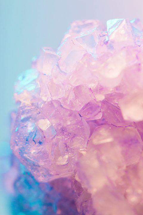 Pink, Crystal, Purple, Violet, Lavender, Transparent material, Quartz, Mineral, Magenta, Fashion accessory,