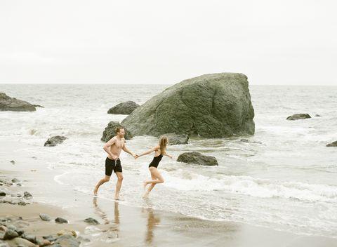 Wave, Sea, Water, Beach, Ocean, Coast, Fun, Rock, Shore, Coastal and oceanic landforms,