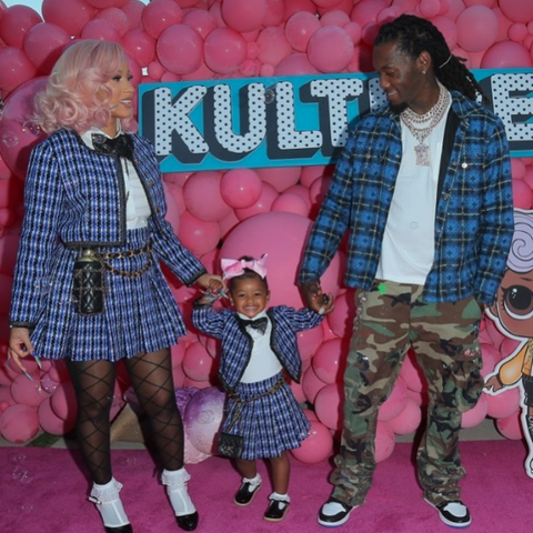 See How Cardi B Threw Her Daughter Kulture A Lavish Birthday Party