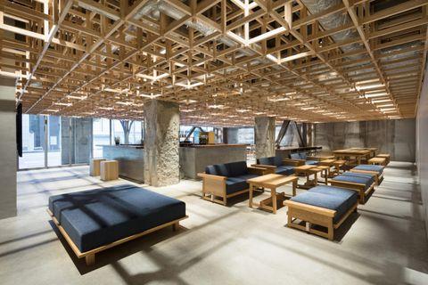 日本最美「女生宿舍」!金澤 KUMU 飯店,共享住宿 + 現代茶屋的超完美結合!