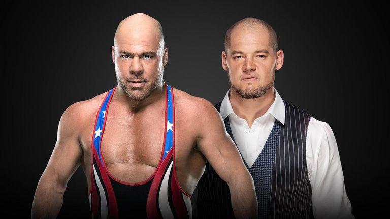Kurt Angle vs Baron Corbin