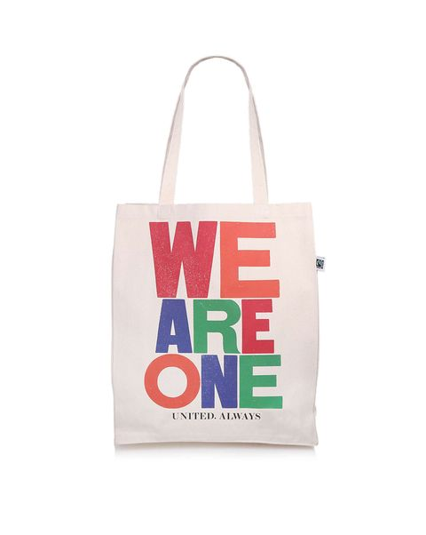 kurt geiger charity tote bag we are one nhs