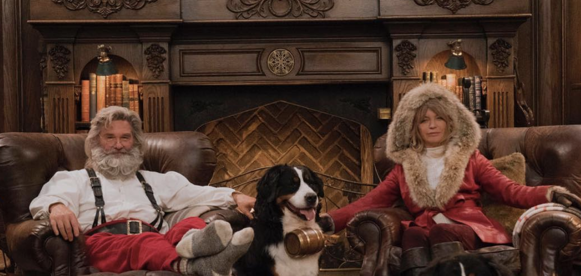 Christmas Chronicles Kate.Goldie Hawn Kurt Russell Celebrate Christmas With Mr Mrs