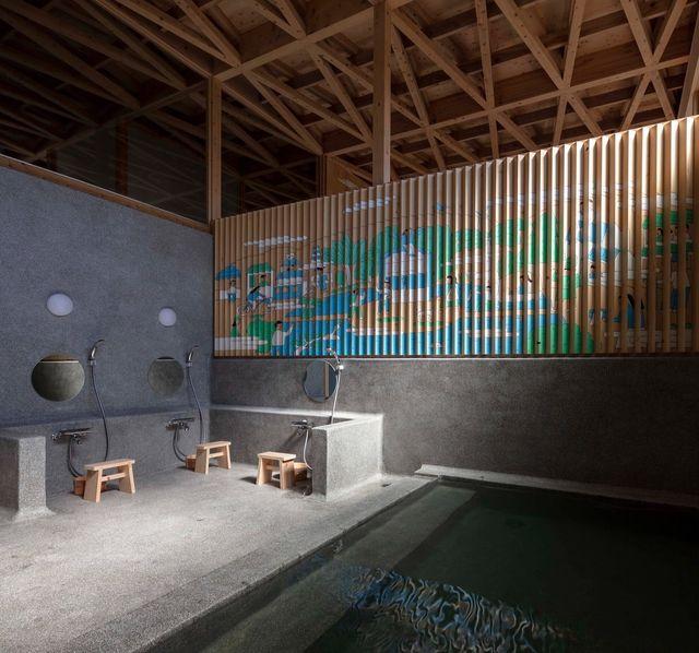 kuwamizu public bath house