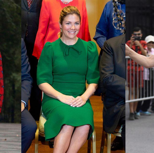 エレママのお手本! カナダ首相夫人、ソフィー・グレゴワのエレガント&モードなファッションスナップ16