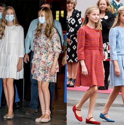 絶妙リンクで魅せる! スペイン、レオノール&ソフィア王女の華麗なる姉妹コーデ