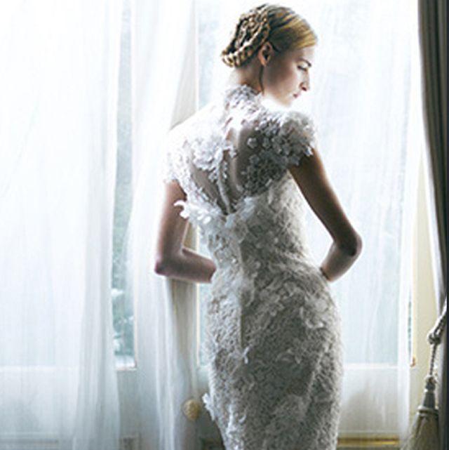 おしゃれ花嫁は半袖ドレスに熱視線!