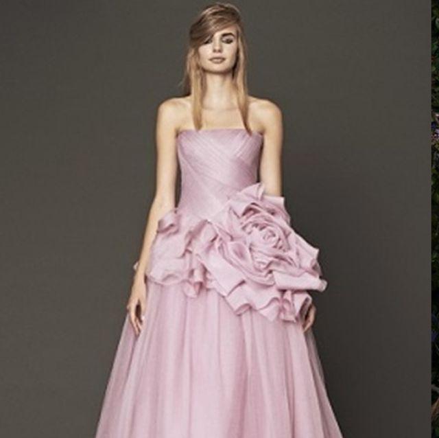 春めくカラーのお色直しドレス集