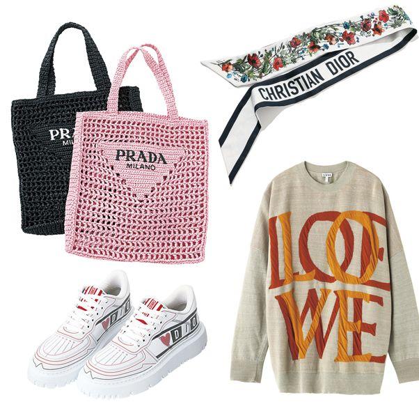 【2021トレンドファッション】ロゴマニアのためのロゴアイテムリスト