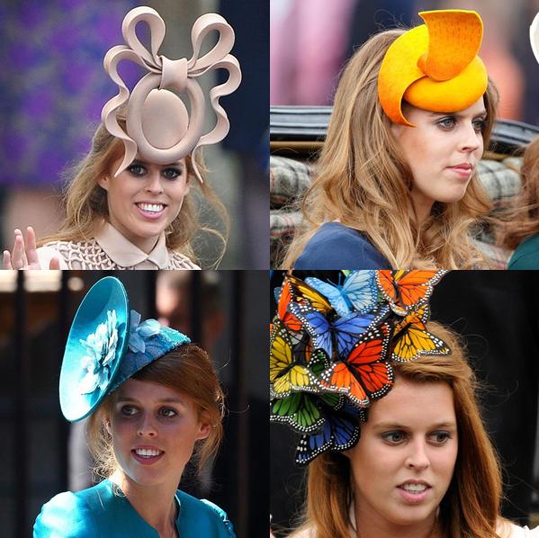 祝・誕生日!ベアトリス王女(ベアトリス・オブ・ヨーク)の超個性派帽子コレクションbest15