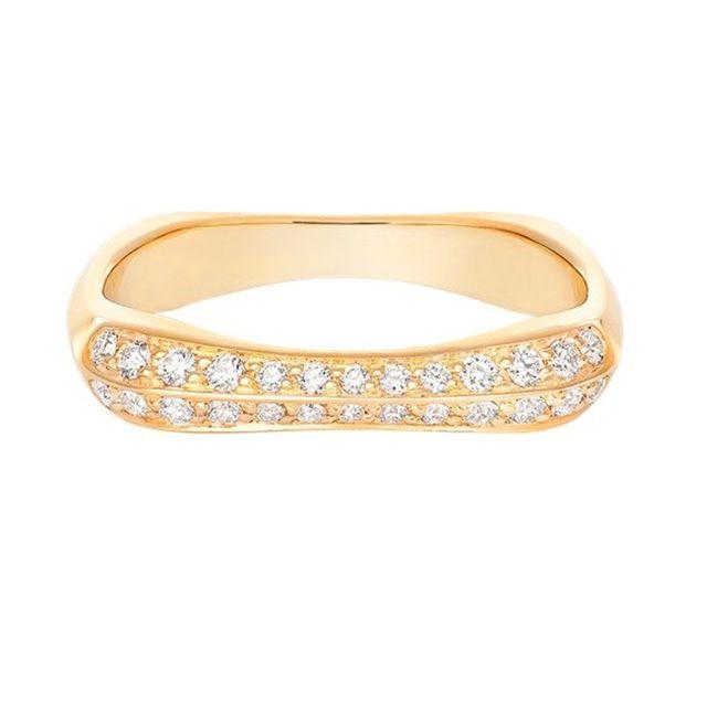 おしゃれ心を揺さぶる、ゴールドの結婚指輪4選