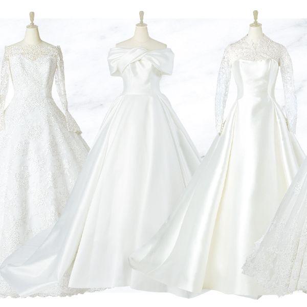 「エレガント派花嫁」に贈る、最旬♡イチ押しドレス