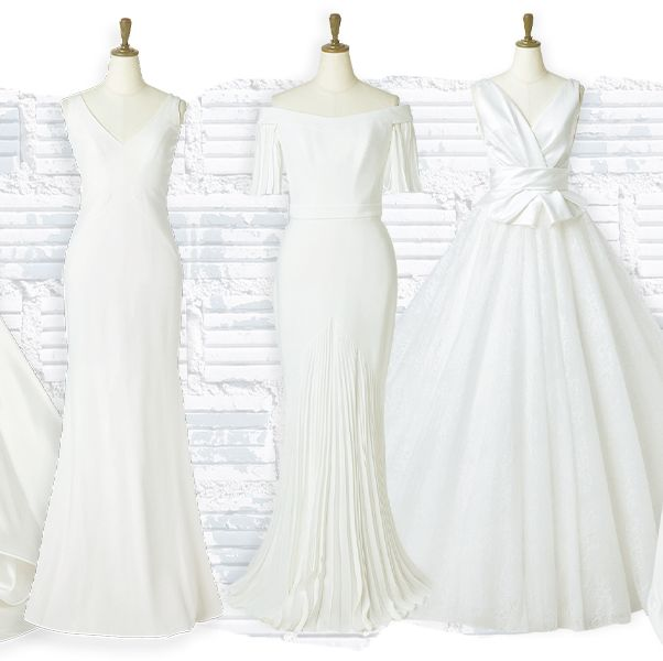 「スタイリッシュ派花嫁」に贈る、最旬♡イチ押しドレス