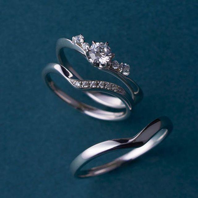 重ね付けしたくなる! 婚約&結婚指輪カタログ
