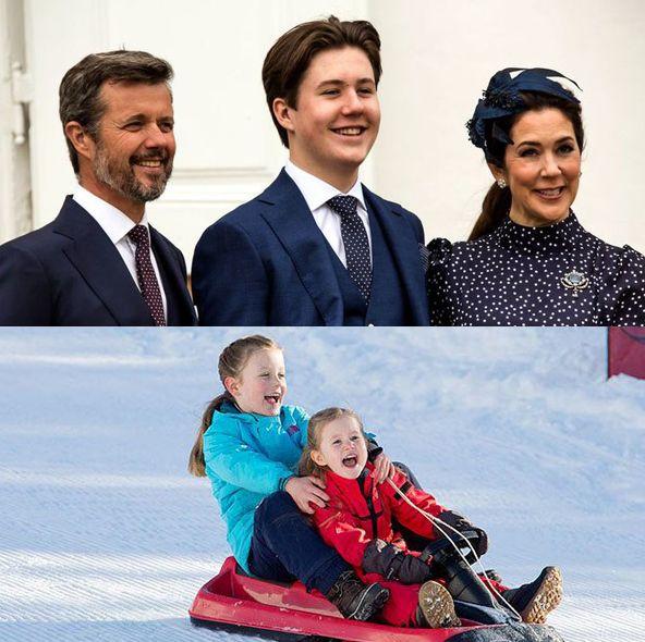 祝6歳! デンマーク・クリスチャン王子とご家族の仲良しフォト集【リトル・プリンスプリンセス図鑑vol2】