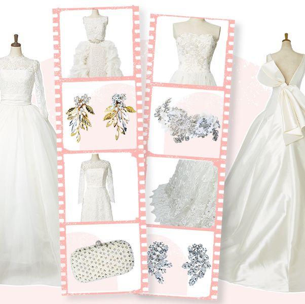 王道スタイルの花嫁ドレス14