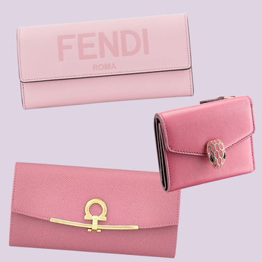 人気ブランドのおすすめピンク&赤系色財布
