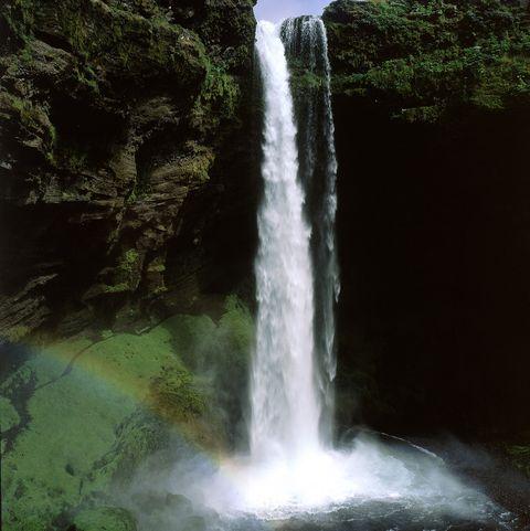 Iceland breaks -Kvernufoss Waterfall