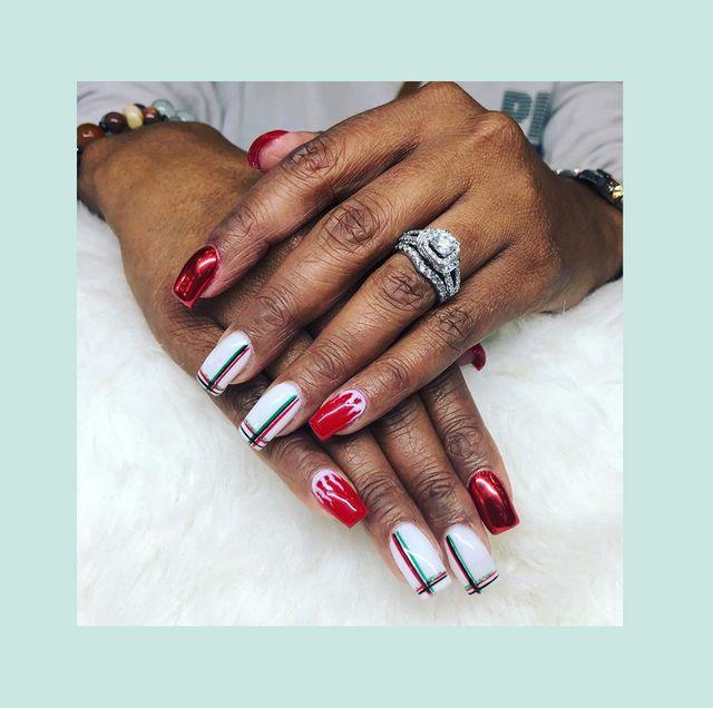kwanzaa nail art ideas