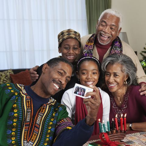 kwanzaa traditions wearing traditional african clothing