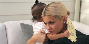 Kylie Jenner Instagram halloween matching outfits stormi webster