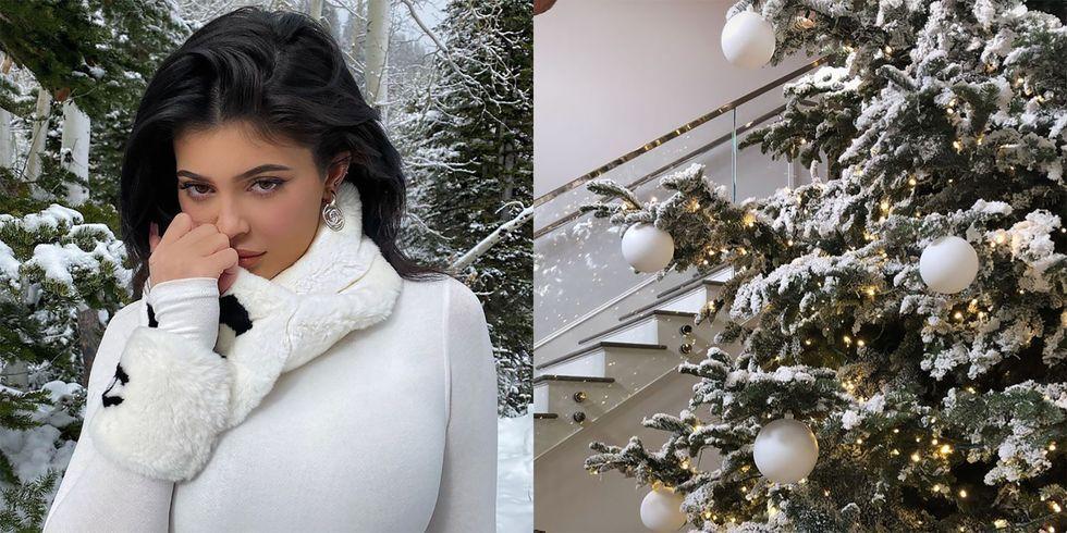 Kylie Jenner 2021 Christmas Photos