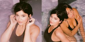 Kylie Jenner's officially back with bikini pics in a hot tub