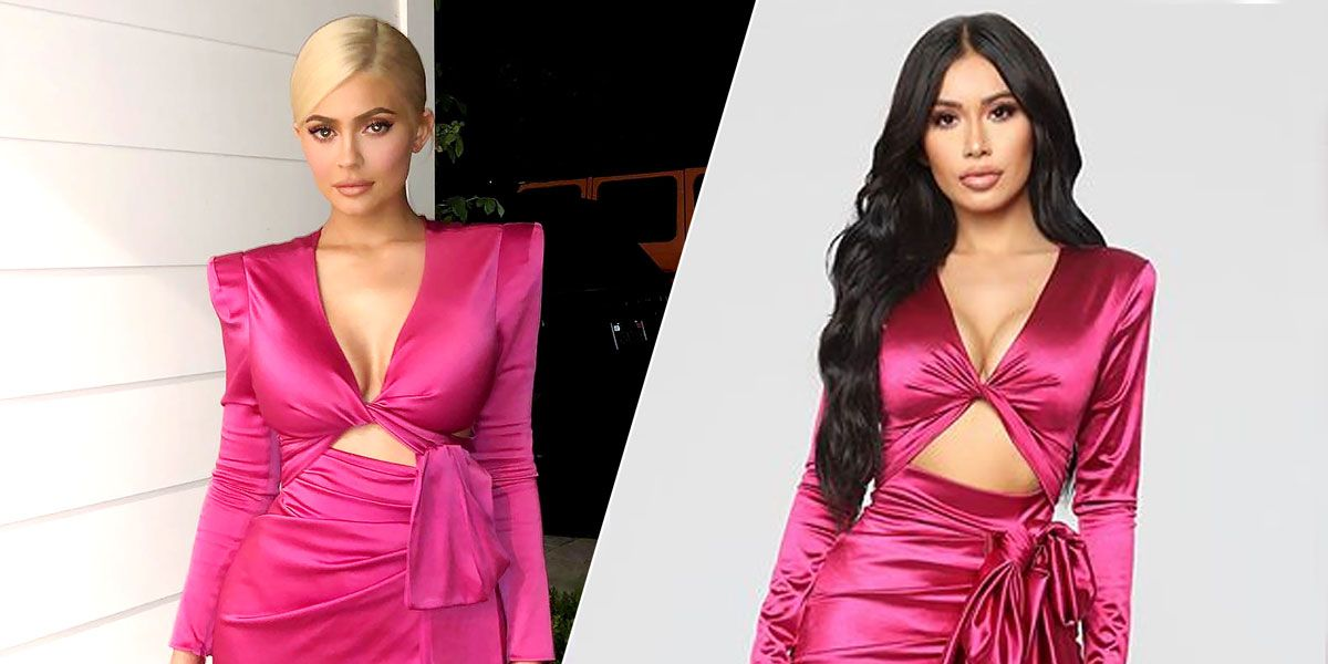 796572bad7 Fashion Nova Must Have Used Magic to Create These Eerily Similar Kylie  Jenner Birthday Looks So Fast
