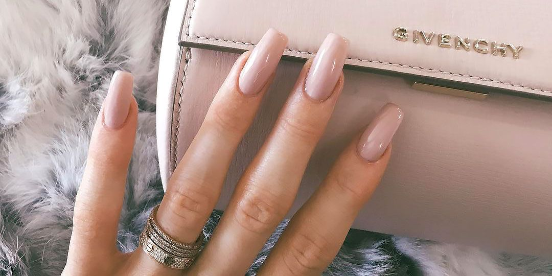 20 Coffin Nails to Copy - Best Designs for Short or Long Coffin ...
