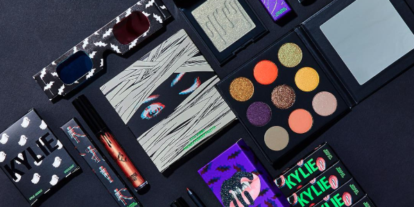 kylie jenner halloween makeup collection