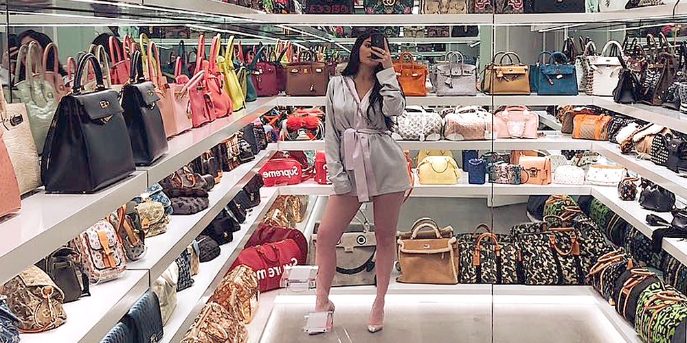 Exceptionnel Photos And Videos Of Kylie Jenneru0027s Huge Purse Closet   Kylie Jenneru0027s $1  Million Handbag Collection