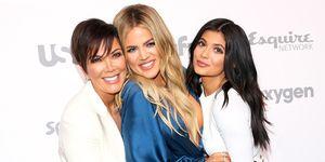 Kris Jenner, Khloé Kardashian en Kylie Jenner