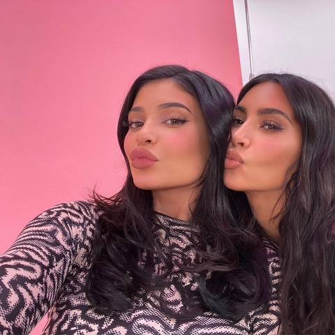 Kylie Jenner Did Her Makeup Routine on Kim Kardashian and They Look Like Twins