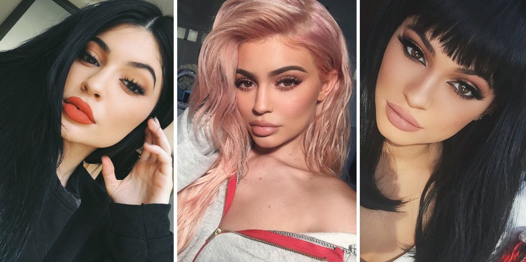 33 of Kylie Jenner's most 'Kylie Jenner' makeup looks