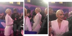 You have to see the moment Kylie Jenner swerved to avoid Nicki Minaj at the MTV VMAs