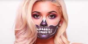 Skeleton Halloween Makeup Look Skull Costume Tutorial