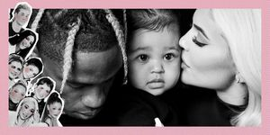 Travis Scott, Stormi Webster en Kylie Jenner
