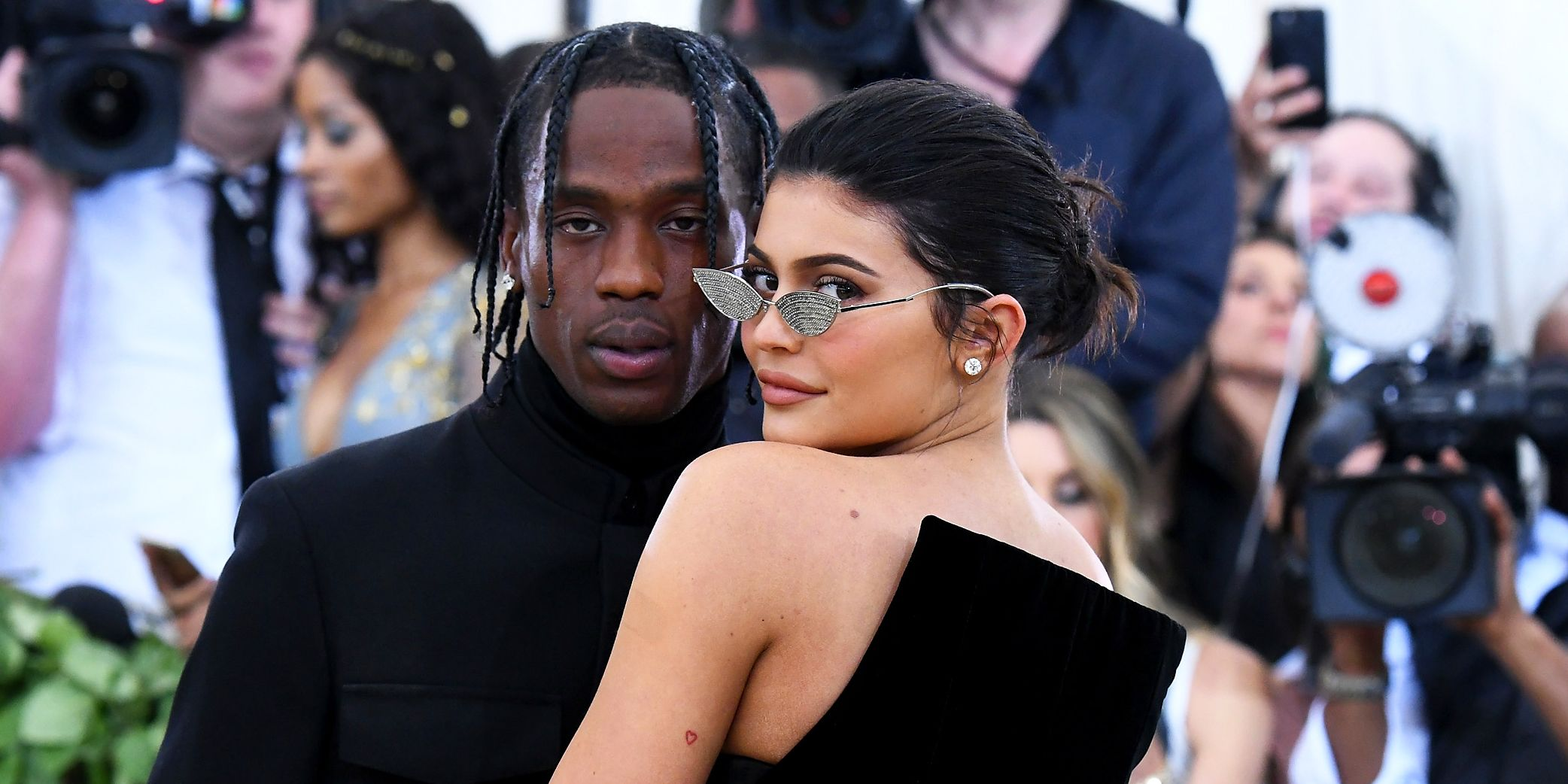 Well, We Finally Know What Kylie Jenner and Travis Scott Got Matching Tattoos Of