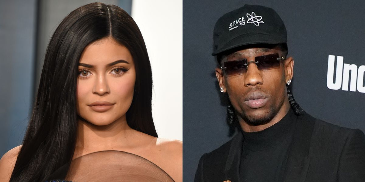 """Kylie Jenner and Travis Scott are Reportedly Doing """"Better Than Ever"""" Following Night Together at the Vanity Fair Oscar Party"""