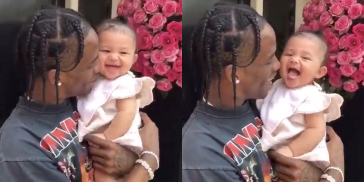 Kylie Jenner Shares Video Of Travis Scott And Baby Stormi