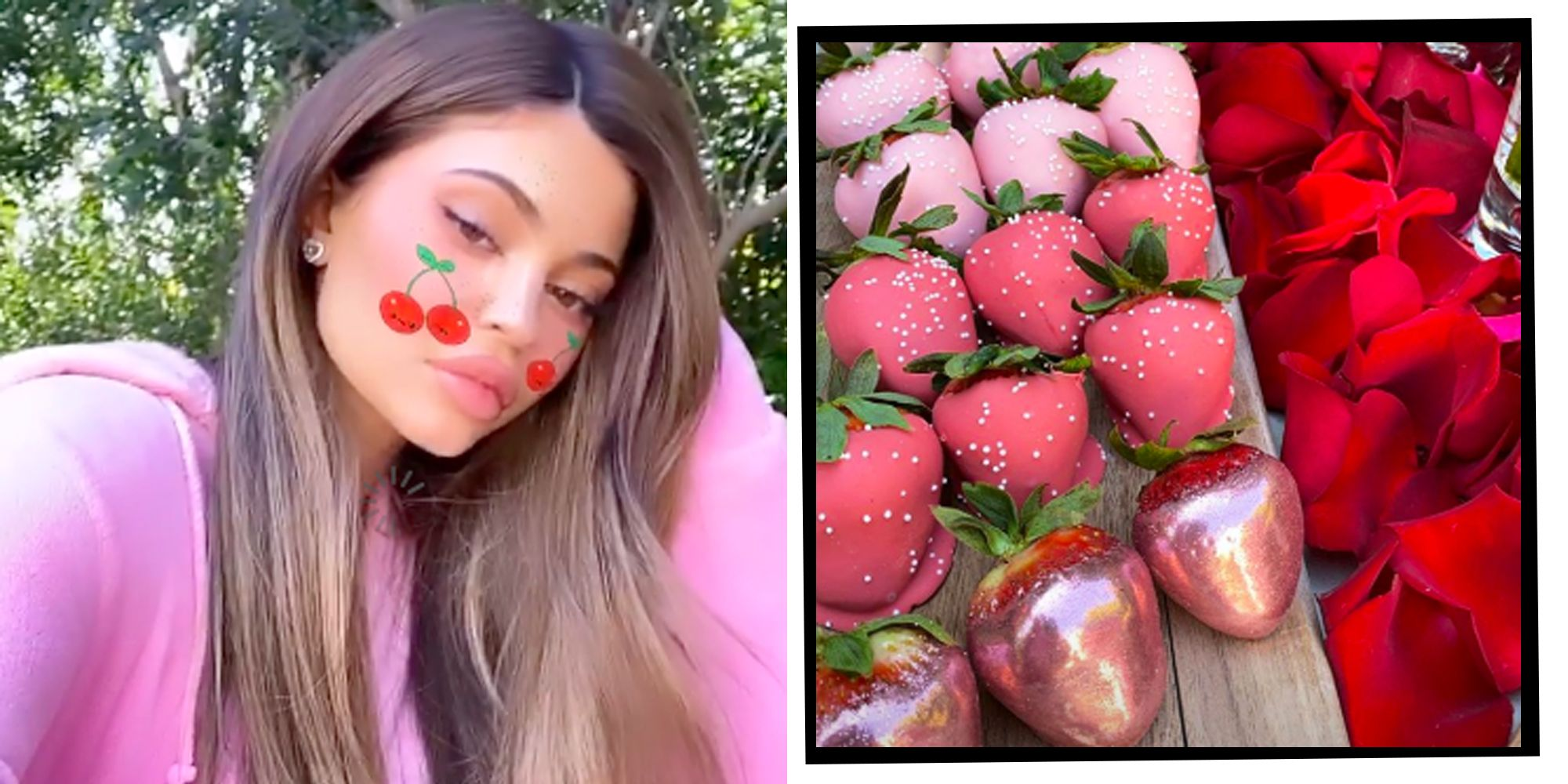 Kylie Jenner Celebrates Valentine's Day With Star-Studded Brunch Following Dramatic Haircut
